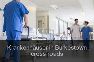 Krankenhäuser in Burkestown cross roads